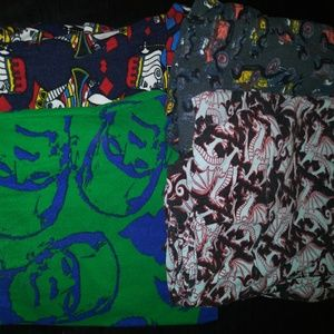 One size lularoe legging bundle fit size 0-10